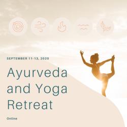Ayurveda & Yoga Home Retreat Fall 2020